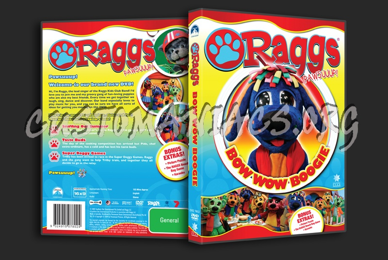 Raggs Bow Wow Boogie dvd cover