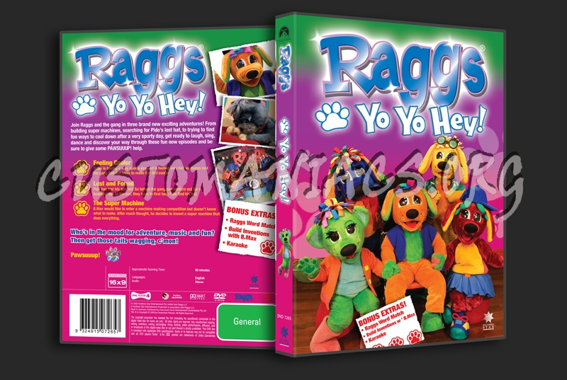 Raggs Yo Yo Hey! dvd cover