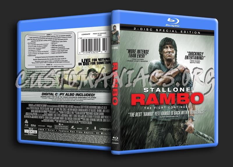 Rambo blu-ray cover