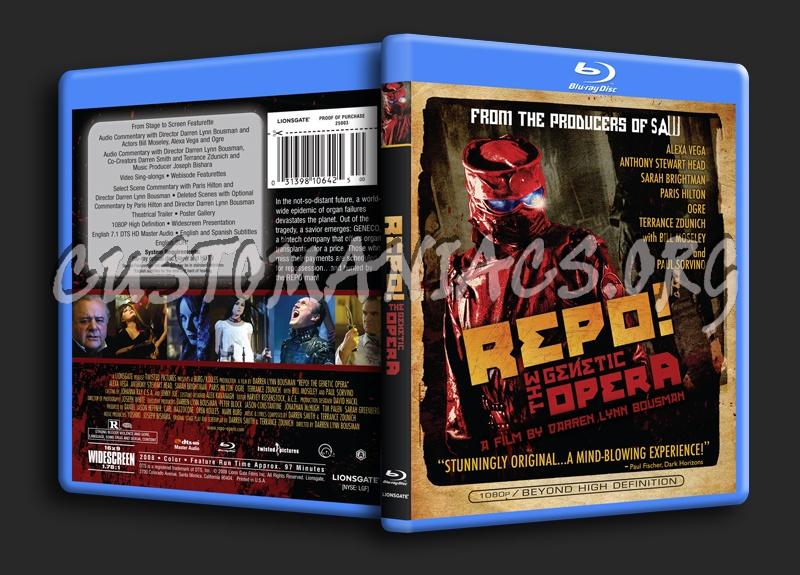 Repo! The Genetic Opera blu-ray cover
