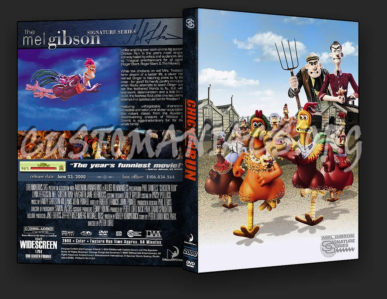 Chicken Run Quotes: DVD Covers & Labels By