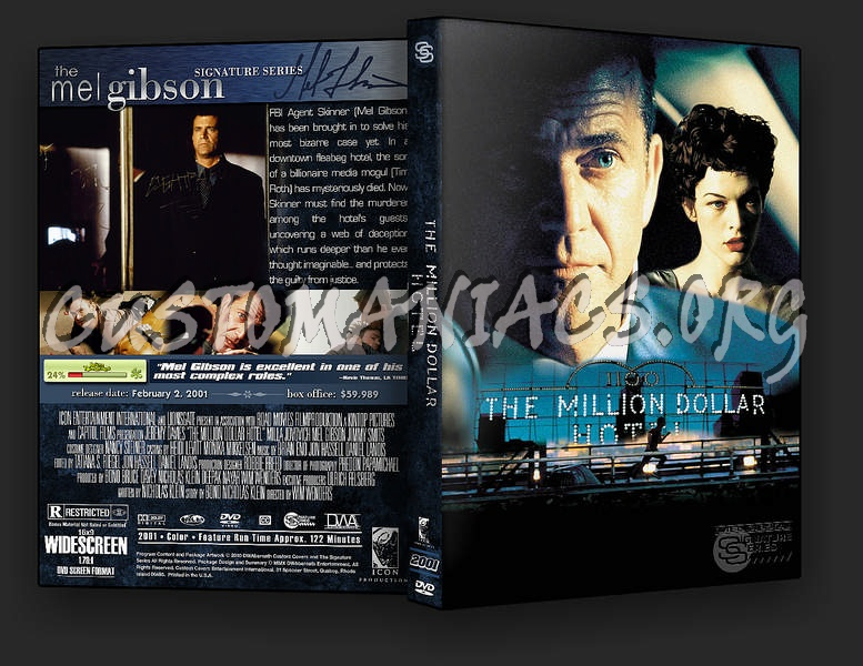 The Million Dollar Hotel dvd cover
