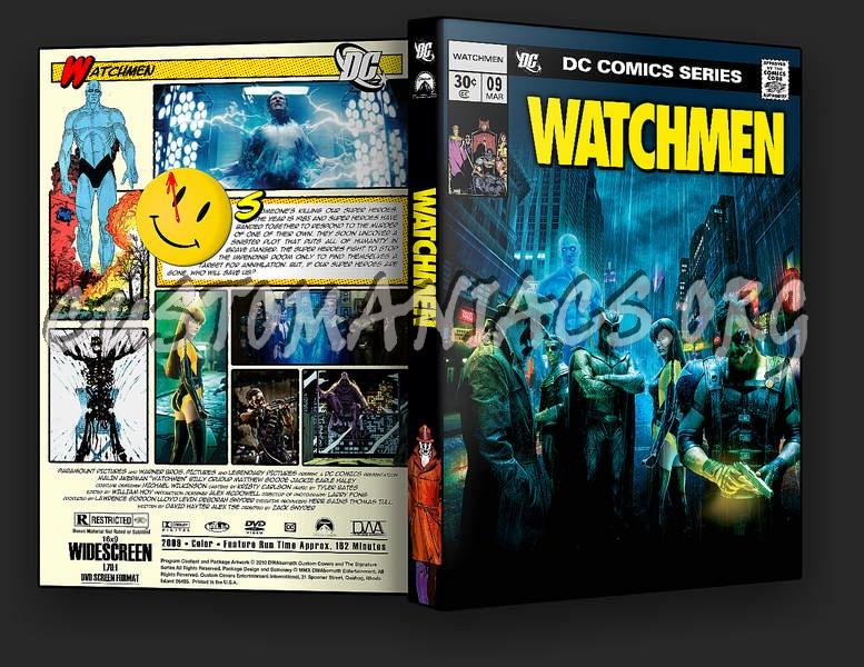Watchmen dvd cover - D...