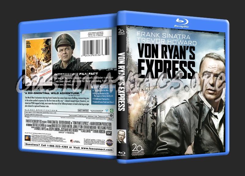 Von Ryan's Express blu-ray cover