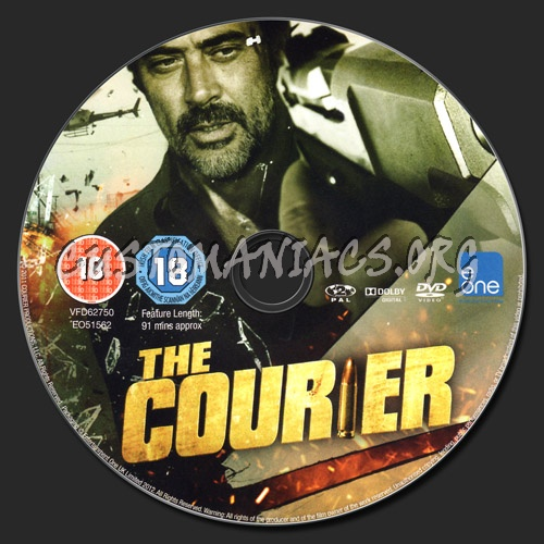 The Courier dvd label