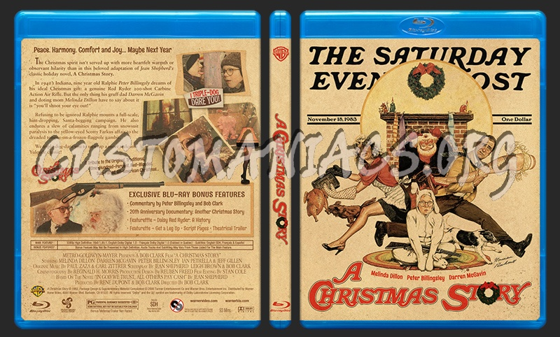 A Christmas Story blu-ray cover