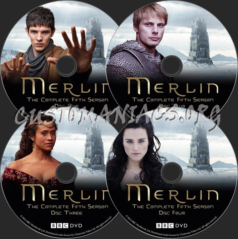 Merlin, season 5 sur itunes.