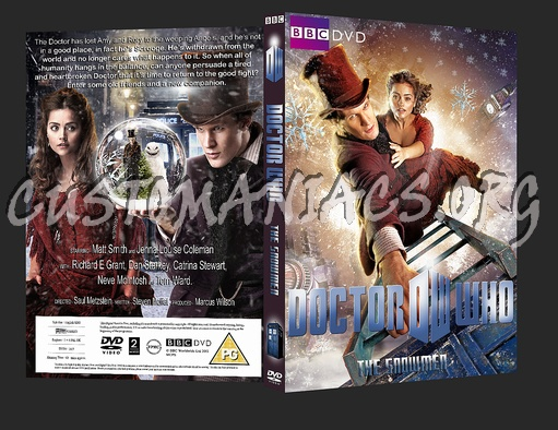 Doctor Who Christmas Special 2012.Doctor Who Christmas Special 2012 The Snowmen Dvd Cover