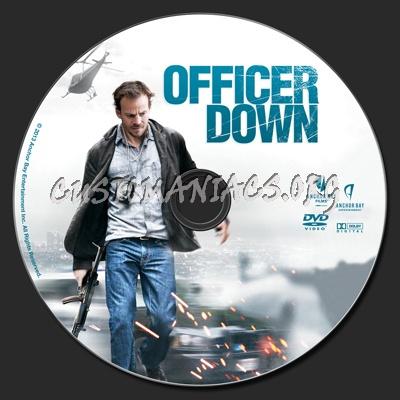 Officer Down dvd label
