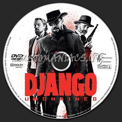Django Unchained dvd label - DVD Covers & Labels by ...  Django Unchaine...