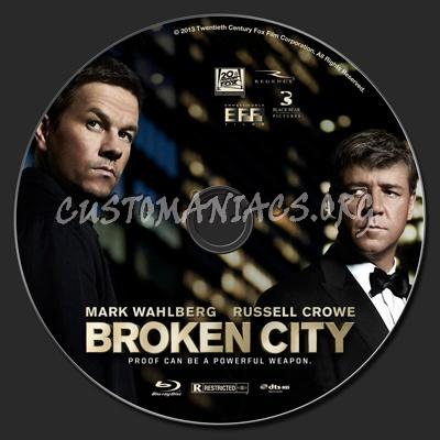 Broken City blu-ray label