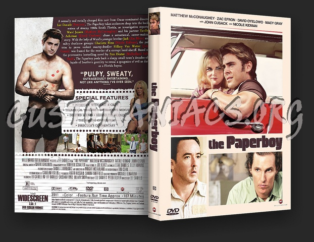 The Paperboy dvd cover