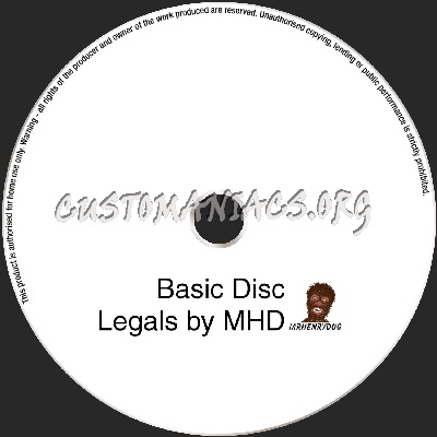 disc legals dvd label