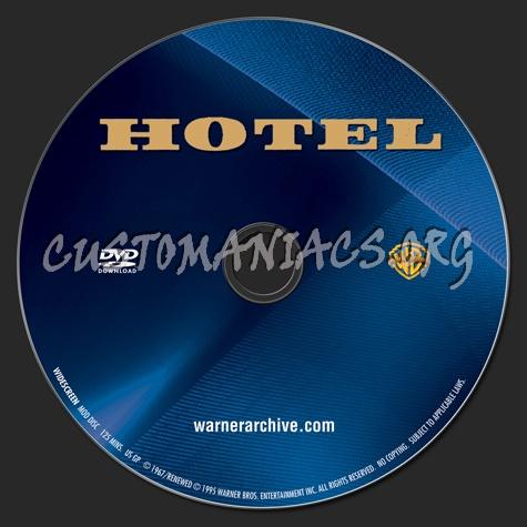 Hotel dvd label