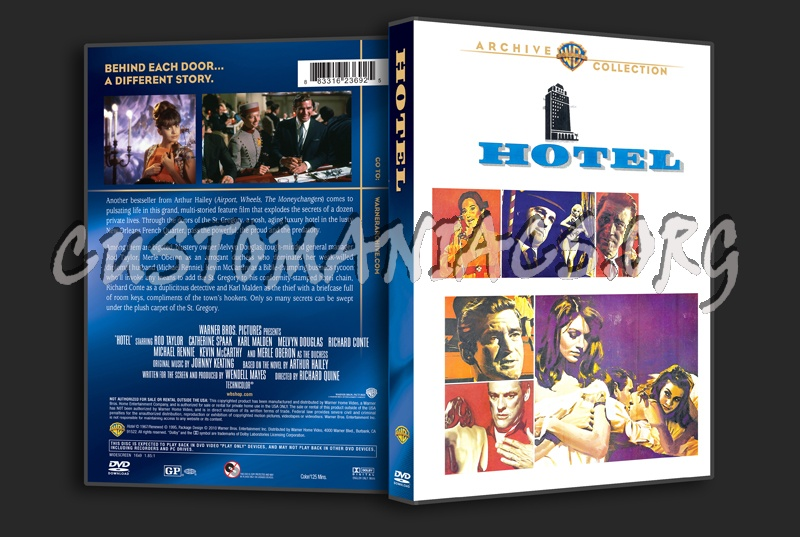 Hotel dvd cover