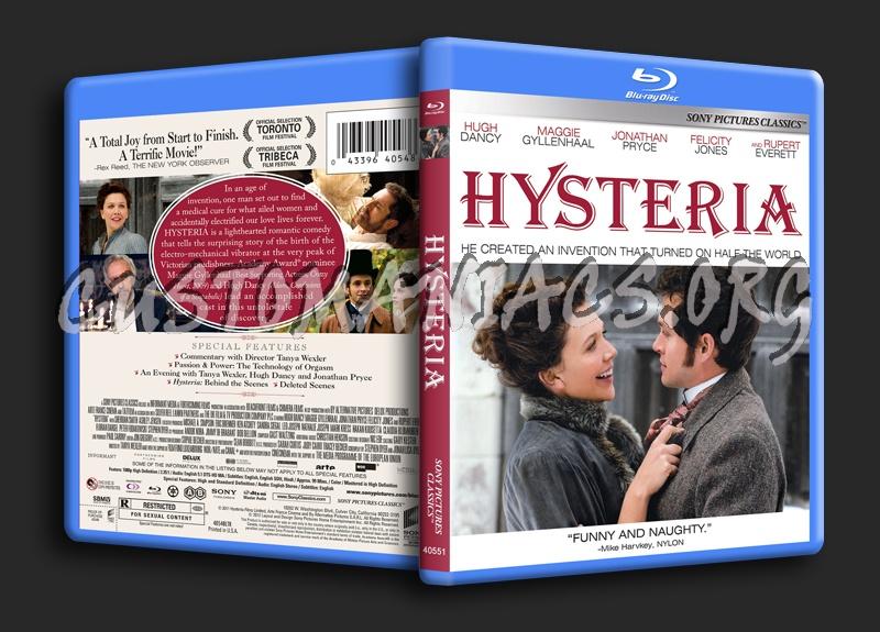 Hysteria blu-ray cover