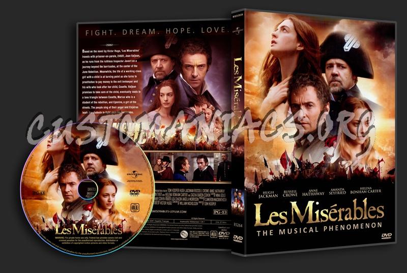 Les Misérables dvd cover