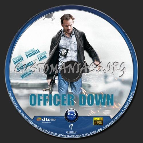 Officer Down blu-ray label