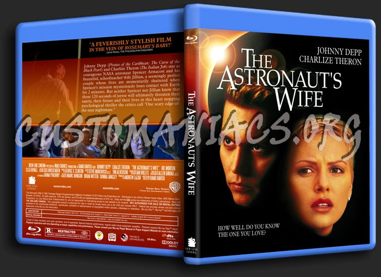 The Astronaut's Wife blu-ray cover - DVD Covers & Labels ...