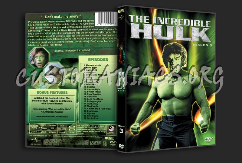 The Incredible Hulk Dvd Cover