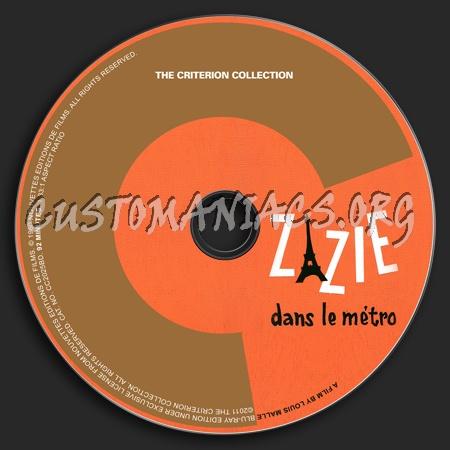 570 - Zazie Dans Le Métro dvd label