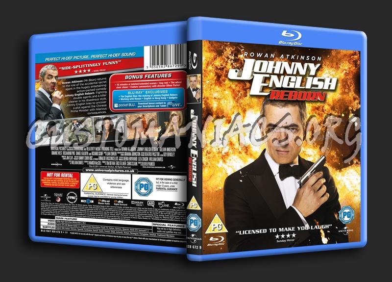 Johnny English Reborn blu-ray cover