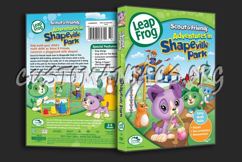 Leap Frog Adventures In Shapeville Park Dvd Cover Dvd