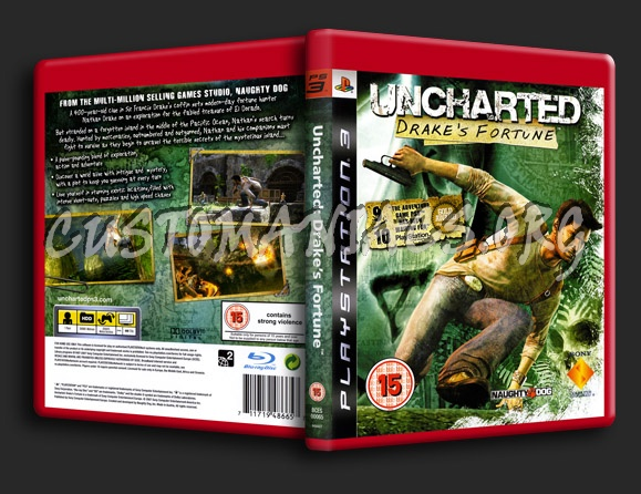 Uncharted Drake's Fortune dvd cover - DVD Covers & Labels ...  Uncharted Drake...
