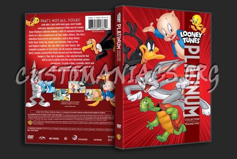 Looney Tunes Platinum Collection Volume 2 dvd cover