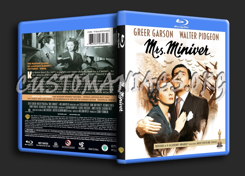 Mrs. Miniver blu-ray cover