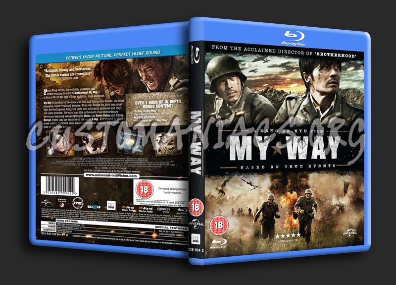 My Way blu-ray cover