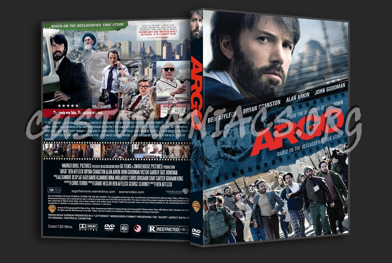 Argo dvd cover