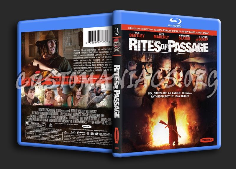 Rites of Passage blu-ray cover