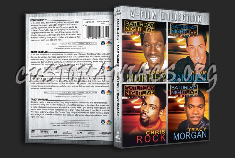 Saturday Night Live: Eddie Murphy / Adam Sandler / Chris Rock / Tracy Morgan dvd cover
