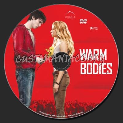 Warm Bodies dvd label