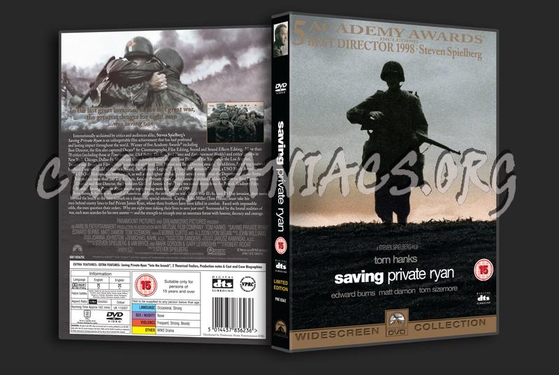 Saving Private Ryan dvd cover
