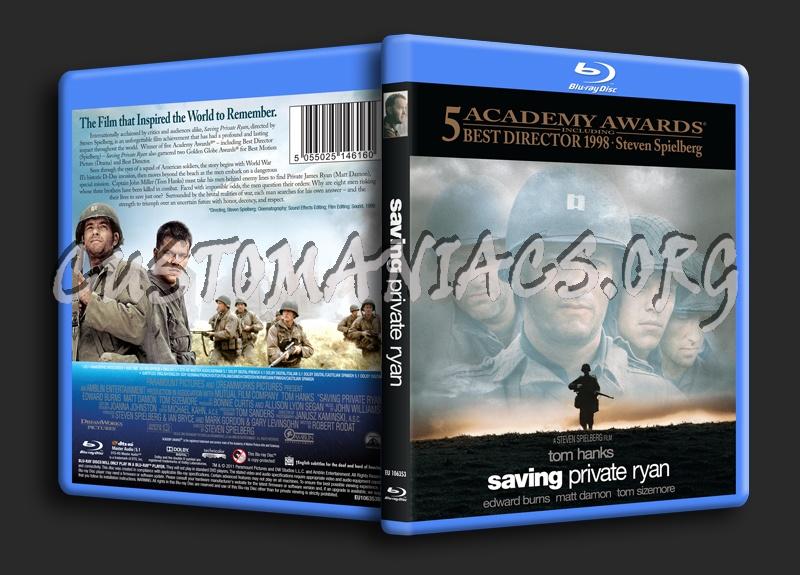 Saving Private Ryan blu-ray cover
