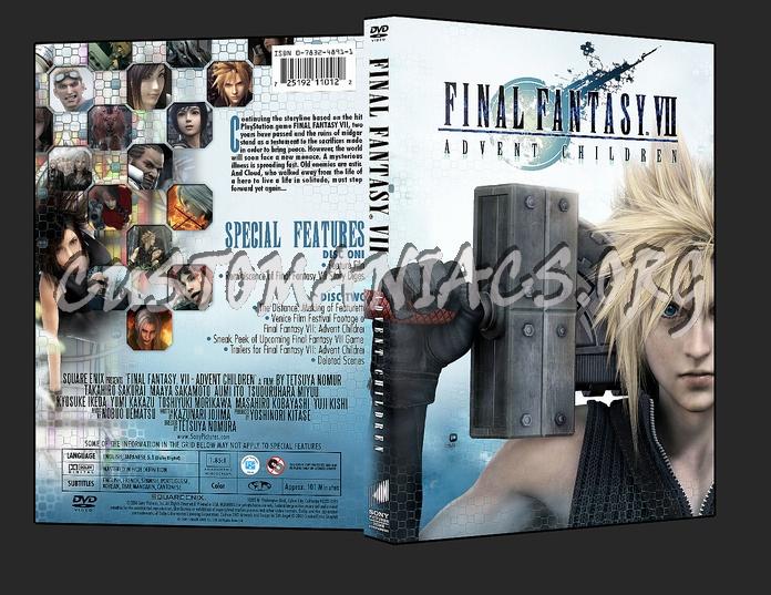 Final Fantasy VII - Advent Children dvd cover