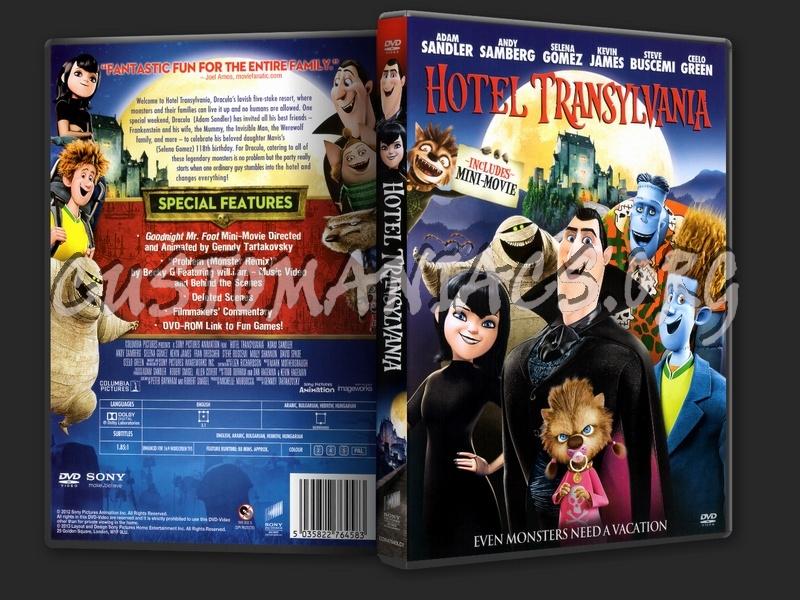 Hotel Transylvania dvd cover