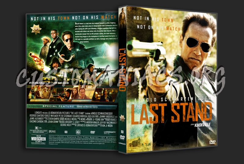 The Last Stand dvd cover
