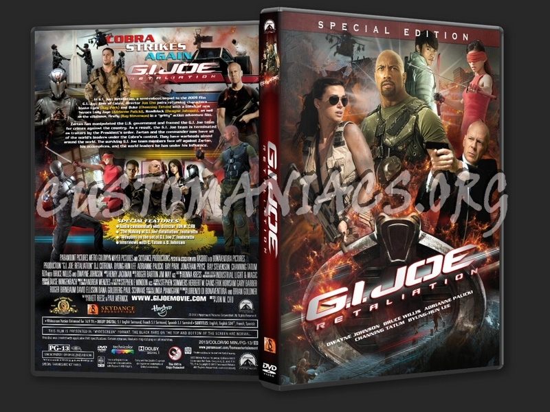G I Joe Retaliation 2013 Dvd Cover Dvd Covers Labels By Customaniacs Id 186584 Free Download Highres Dvd Cover
