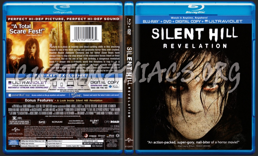 Silent Hill Revelation Blu Ray Cover Dvd Covers Labels By Customaniacs Id 186595 Free Download Highres Blu Ray Cover