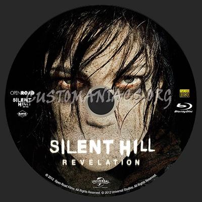Silent Hill: Revelation blu-ray label
