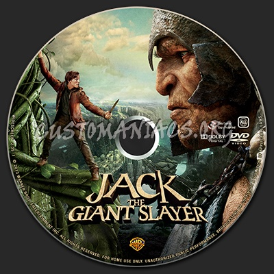 Jack the Giant Slayer dvd label - DVD Covers & Labels by Customaniacs