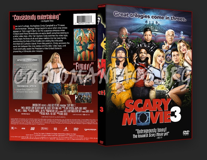 Scary Movie 1,2,3,4 dvd cover