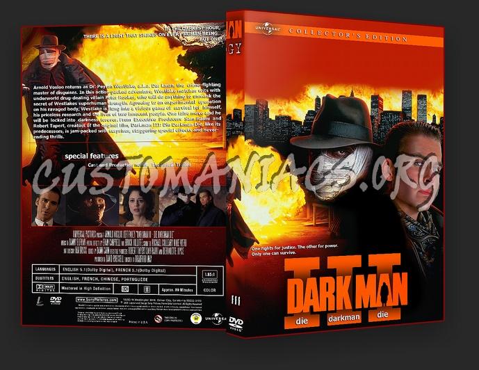 Darkman dvd cover