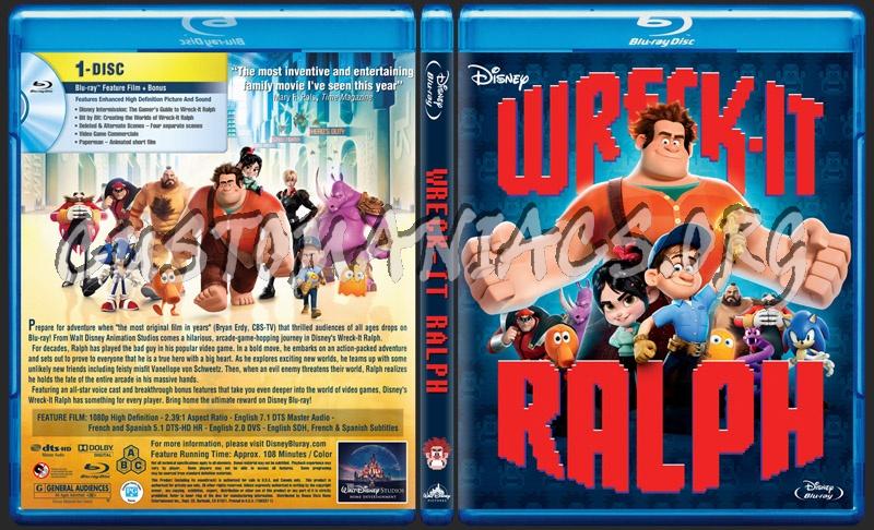 Wreck It Ralph Dvd