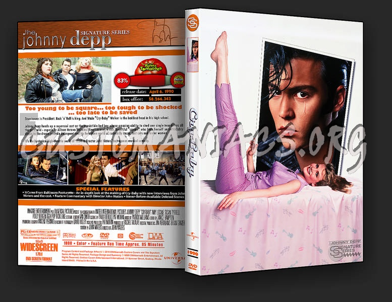 Cry-Baby dvd cover - DVD Covers & Labels by Customaniacs, id