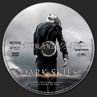 Dark Skies dvd label