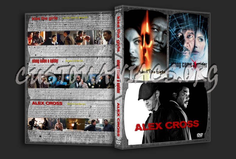 Kiss the Girls / Along Came a Spider / Alex Cross Triple dvd cover